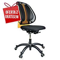 Podpórka pod plecy FELLOWES 9191301 ergonomiczna, siatkowa, czarna