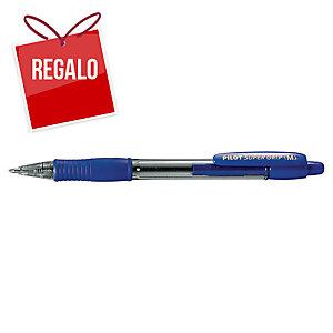 Bolígrafo retráctil PILOT Super Grip BP-Gp color azul