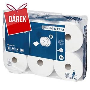 Toaletní papír Tork 472242 SmartOne, 2vrstvý, balení 6 ks