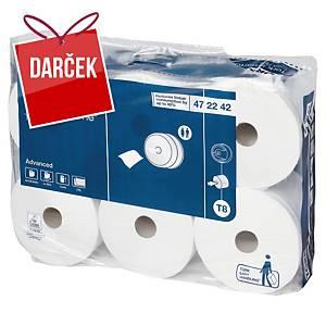 Toaletný papier Tork 472242 SmartOne biely, 6 ks