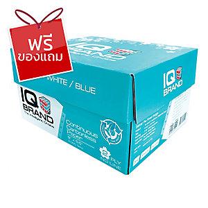 IQ กระดาษต่อเนื่องเคมี 2 ชั้น 9X5.5 นิ้ว 1 กล่อง บรรจุ 2000 ชุด