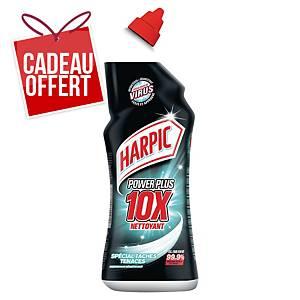 Gel super désinfectant WC Harpic Power Plus Max 10 - flacon de 750 ml