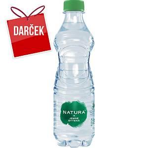 Pramenitá voda Bonaqua, jemne perlivá, 0,5 l, balenie 12 kusov
