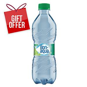 Bonaqua Gently Sparkling Spring Water, 0.5l, 12pcs