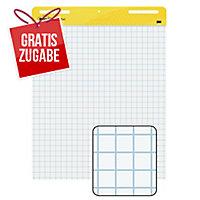 Flipchartblock 3M Post-it Meeting Charts, 63,5 x 77,5cm, 2 Stück a 30 Blatt