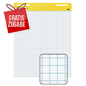 Flipchartblock Post-it Meeting Charts, 63,5 x 77,5cm, 2 Stück a 30 Blatt