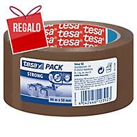 Cinta de embalar marrón PP silencioso ecológico, TESA de 66 m x 50 mm