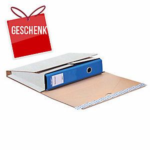 Versandhülle Ordnermail Brieger, 32,1x29x0-7,5 cm, weiss