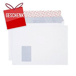 Couvert Elco Premium 34799, C4, Fenster links, 120 gm2, weiss, Pk. à 250 Stk.