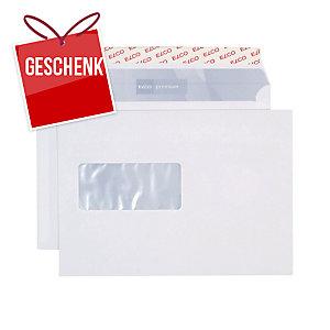 Couvert Elco Premium 32999, C5, Fenster links, 100 gm2, weiss, Pk. à 500 Stk.