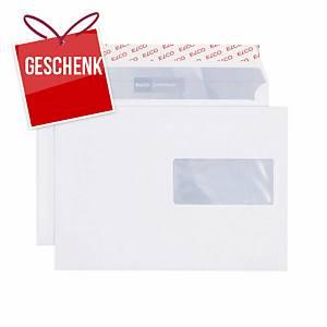 Couvert Elco Premium 32896, C5, Fenster rechts, 100 g/m2, weiss, Pack à 500 Stk.