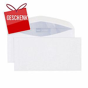 Couvert Elco Premium 30486, C5/6, o. Fen., 100 gm2, gum., weiss, Pk. à 500 Stk.