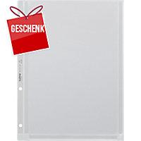 Zeigbuchtasche Kolma Voluma 5662220 A4, 180 my, volldeckend, Beutel à 5 Stück