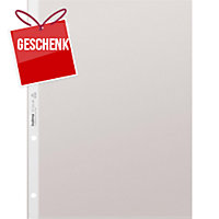 Zeigbuchtasche Kolma 5712120 A4, 65 my, hochtransparent, Pk. à 100 Stk.