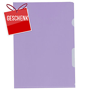 Sichtmappe Kolma Visa Dossier, A4, PP, violett, Packung à 100 Stück