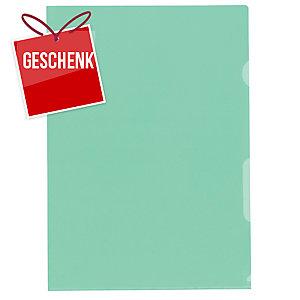 Sichtmappe Kolma Visa Dossier 59464 A4, PP, grün, Packung à 100 Stück