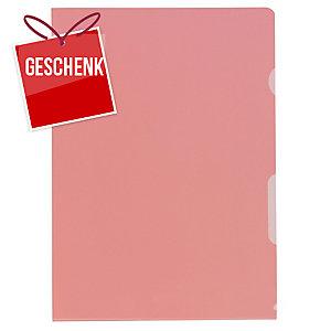 Sichtmappe Kolma Visa Dossier 59464 A4, PP, rot, Packung à 100 Stück