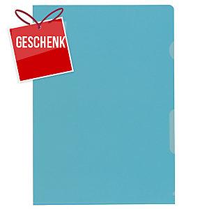 Sichtmappe Kolma A4 59744 A4, PP, blau, Packung à 100 Stück