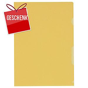 Sichtmappe Kolma A4 59744 A4, PP, gelb, Packung à 100 Stück