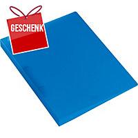 Ringbuch Kolma Easy 0280005 A4, 2-Ring, blau/transparent