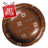 Nespresso Lungo Forte - Box Of 50 Coffee Capsules