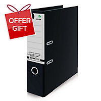 ELEPHANT 2100F LEVER ARCH FILE F 3   BLACK