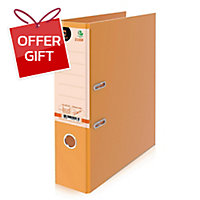 ELEPHANT 2100F LEVER ARCH FILE F 3   ORANGE
