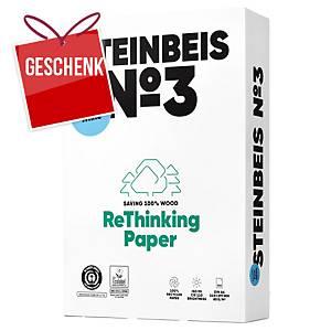 Kopierpapier Steinbeis Pure White A4, 80 g/m2, weiss, Pack à 500 Blatt