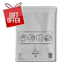Mail Lite Bubble Envelopes 230 X 350mm White - Box of 50