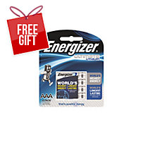ENERGIZER ULTIMATE LITHIUM AAA BATTERY - PACK OF 4