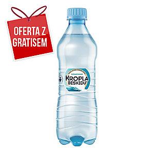Woda mineralna KROPLA BESKIDU niegazowana, zgrzewka 12 butelek x 0,5 l