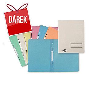 Nezávěsné 1/1 rychlovazače Hit Office Classic - šedé, 100 kusů