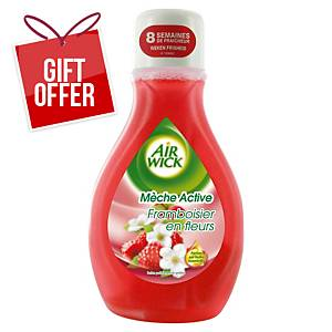 AIRWICK MECHE ACTIVE 375ML RASPBERRY