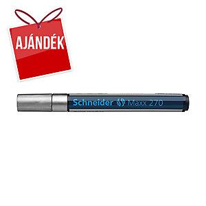 Schneider 270 lakkmarker, gömbölyű hegy, ezüst