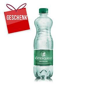 Römerquelle Mineralwasser prickelnd 500 ml, 24 Stück