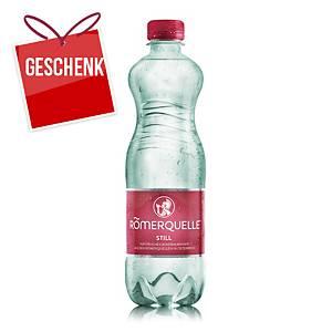 Römerquelle Mineralwasser still 500 ml, 24 Stück