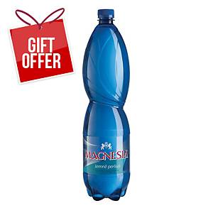 Magnesia Gently Sparkling Mineral Water, 1.5l, 6pcs