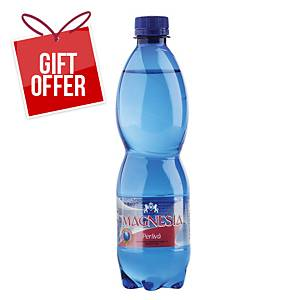 Magnesia Sparkling Mineral Water, 0.5l, 12pcs