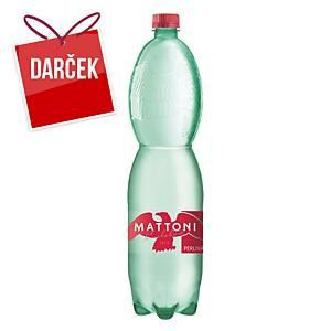 Minerálna voda Mattoni, perlivá, 1,5 l, balenie 6 kusov