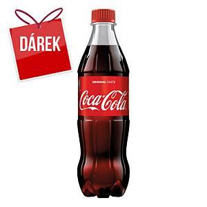 Sycený nápoj Coca-Cola, 0,5 l, 12 kusů
