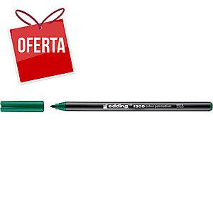Marcador de ponta de fibra EDDING 1300 cor verde