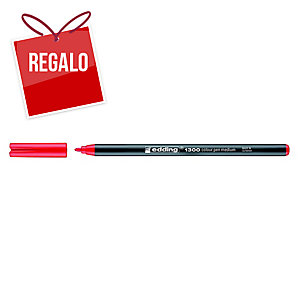 Rotulador Edding 1300 - rojo