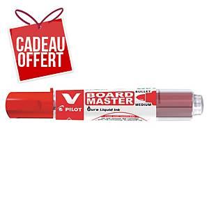 Marqueur tableau blanc V-Board Master Begreen - pointe ogive moyenne - rouge