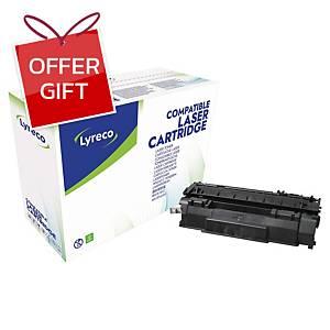 LYRECO COMPATIBLE 53A LASER CART HP Q7553A - BLACK