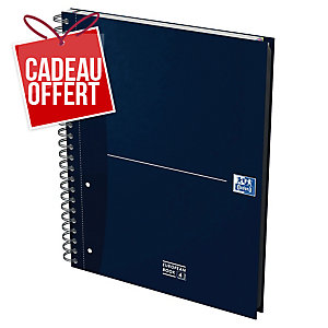 CAHIER OXFORD OFFICE EUROPEAN BOOK A4+ 240 PAGES LIGNES 7MM CARTE RIGIDE SPIRAL