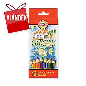 Koh-i-noor színes ceruzák, 12 szín/csomag