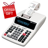 CASIO DR-120TM DESKTOP PRINTER CALCULATOR 12 DIGITS