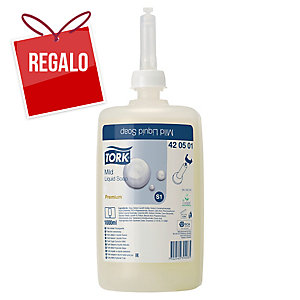 Recarga de jabón líquido Tork Premium S1 - 1 L