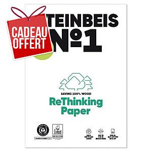 Papier recyclé blanc A4 Steinbeis ClassicWhite - 80 g - ramette 500 feuilles