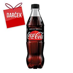 Coca-cola zero 0,5 l, balenie 12 kusov